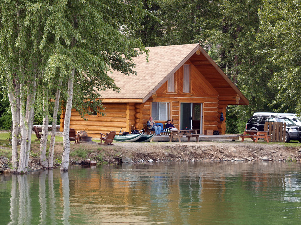 Sex at thr lake cabin