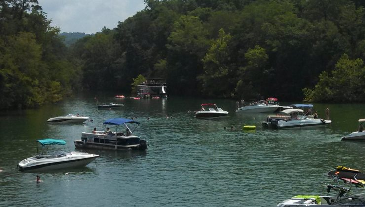Springs Dock Norris Lake